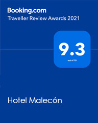 Puntuación 9.3 Hotel Malecón en #travellerreviewawards2021 de Booking.com